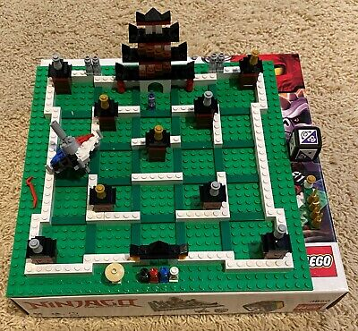 LEGO Games Ninjago: The Board Game set #3856 from 2011 used (complete)