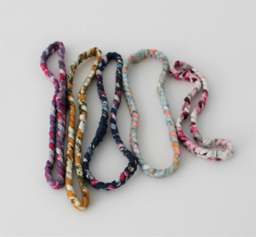 Parker Baby Girl Braided Headbands Hair Accessories for Girls Set of 5 PRE-OWNED
