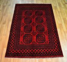 Hand Made Afghan Rug Akhcheh design, new 100% wool Stanhope Gardens Blacktown Area Preview