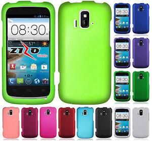 Cricket Zte Sonata 4g Rubberized Hard Protector Case Phone