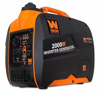 Wen 56200I 79 7Cc Gas Powered Portable Inverter Generator  2000 Watt