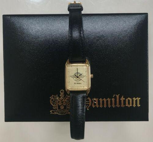 Vintage Southwest Airlines original 15 YEAR Employee Hamilton Ladies Wrist Watch