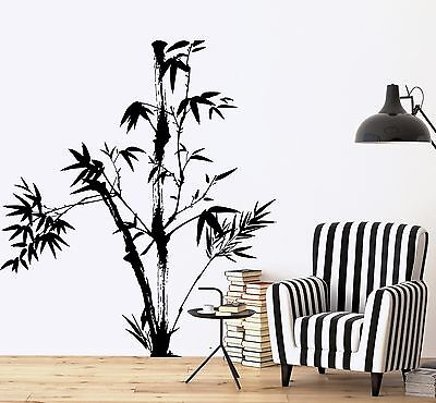 Bamboo Wall Sticker - Wall Decal Tree Bamboo Bedroom Floral Vinyl Sticker (z3638)