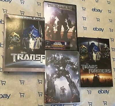 Transformers | Transformers Beginnings (DVD 2 Disc 2007) + Slip Cover!