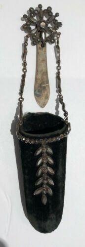 Beautiful Antique Chatelaine Spectacles Case