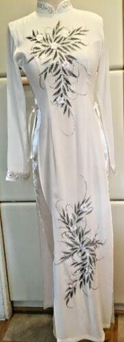 Vietnamese Long Cheongsam Dress