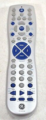 GE General Electric TV/VCR Universal Remote Control MODEL # RC94927-E