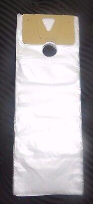 Plastic Door Hanger Bags (200 Plastic Bags Door Hanger Door Knob Clear 6 1/2 x)