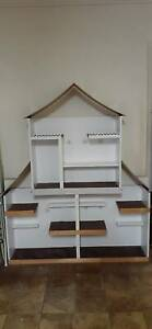 FREE Large hand built wooden doll house
