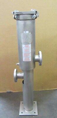 Hilco 22hmf-496000427 3 316 Ss Cartridge Bag Filter Housing 2014 Yr Cf3m Smi