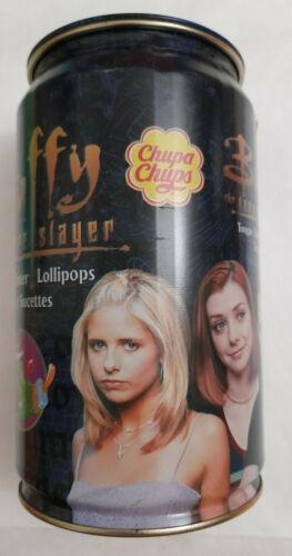 Buffy The Vampire Slayer Sarah Michelle Gellar Chupa Chups 20 Lollipops Tin Can