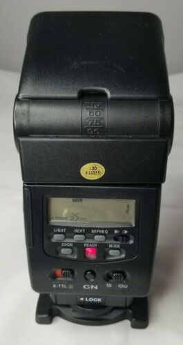 PROMASTER 7500DX  Digital  Shoe Mount Flash For Canon