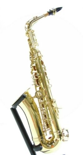 Alto Saxophone by Gear4music, Gold-DAMAGED-RRP £249