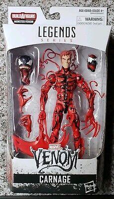 """Marvel Legends Monster Venom Series Carnage Action Figure 6"""""""