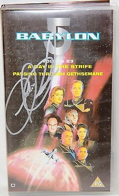 BABYLON 5 : Volume 23 Video Tape, signed by Claudia Christian