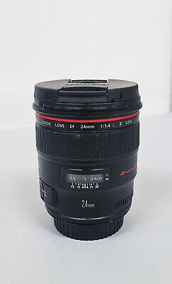# Canon EF 24mm  f/1.4 II EF L USM Lens (24mm 1.4)  s/n 1613619 (ux code)