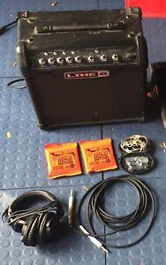 Amp and Headphones $200