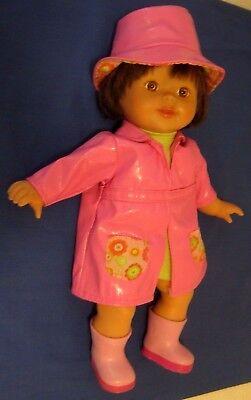 "2007 Mattel Fisher Price Little Mommy ""Sweet As Me"" Splish Splash 14"" Doll"