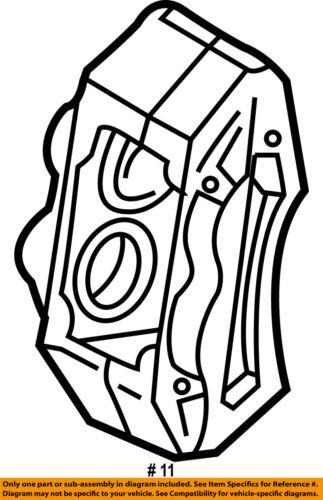 toyota oem 01 02 tundra front brake disc caliper 477300c011 ebay Jeep Grand Cherokee Brake Calipers seller payment information