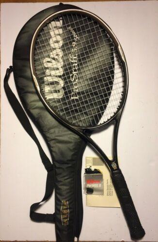 "WILSON Pro Staff 5.9 Stretch Tennis Racquet Racket w/Case 4 3/8 Grip 28"" 110"