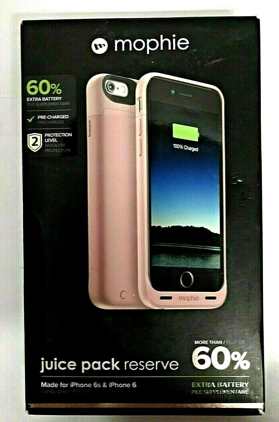 Mophie Battery Reserve/Case for iPhone 6/6s