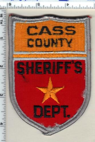 Cass County Sheriff (North Dakota) 1st Issue Shoulder Patch