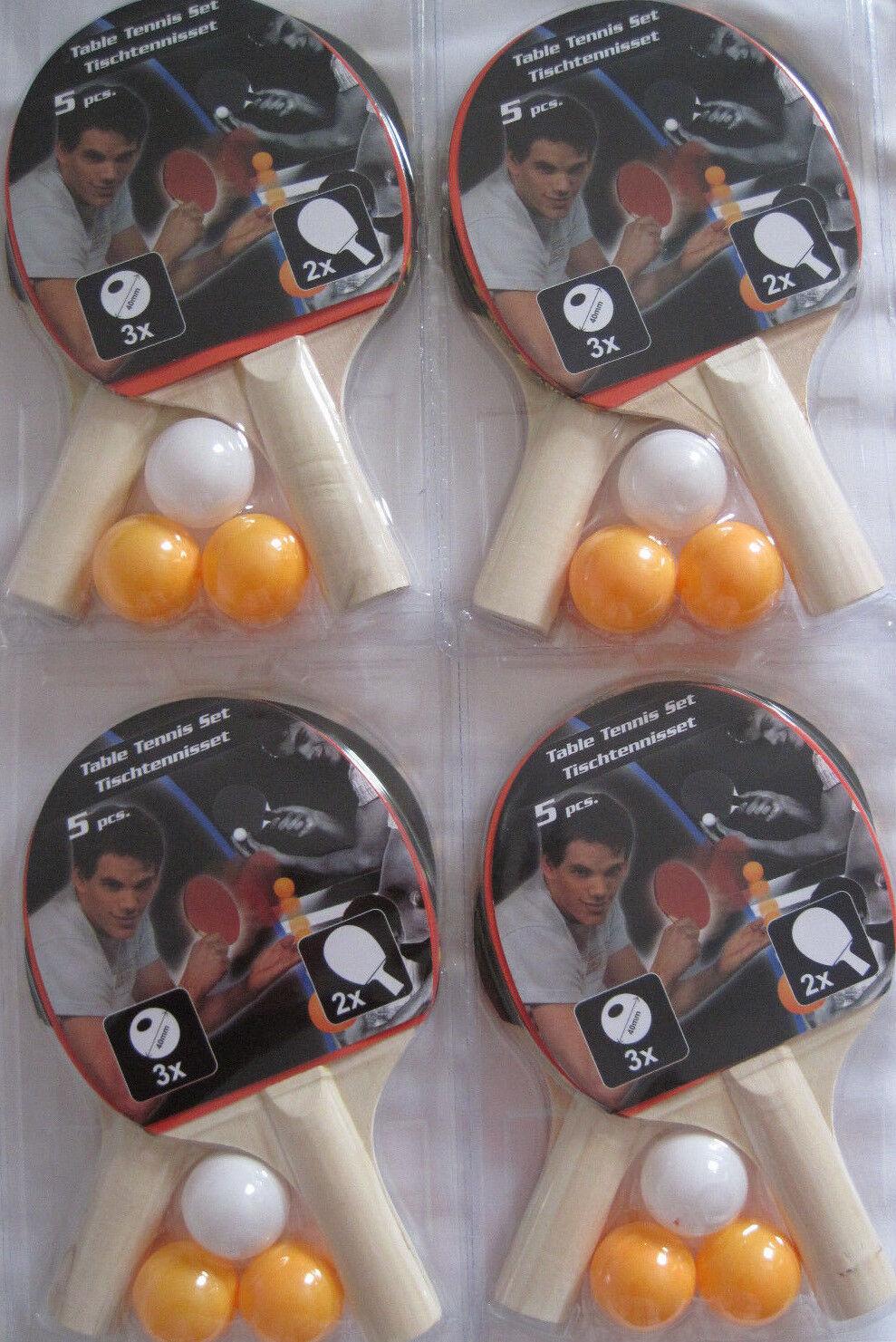 Großpackung Tischtennisschläger Tischtennis Schläger Set mit Bälle Tisch Tennis