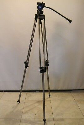Miller Single Stage 75mm Ball Base Tripod with 20 Series II Fluid (75 Mm Ball Base)
