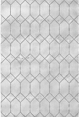 Decorative Window Film 24 x 36 Inch Light Effects Textured O