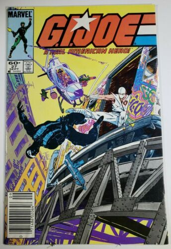 G.I. Joe 27 ~ 8.5-9.0 ~ Off-White to White Pages ~ Newsstand Edition ~ 1st Print