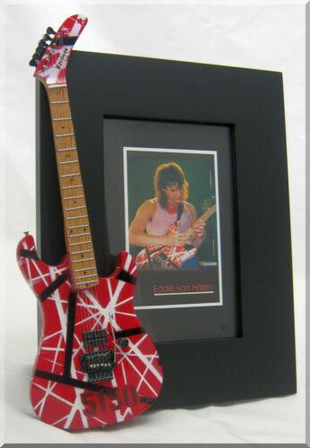 EDDIE VAN HALEN Miniature Guitar Frame EVH 5150