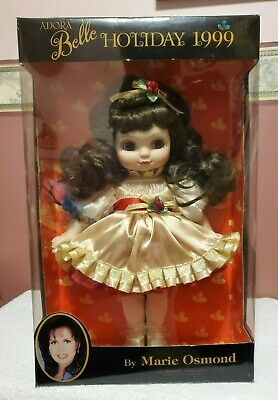 "Marie Osmond - Adora Belle Holiday 1999 Doll, 15"" tall, MIB, FREE SHIPPING"