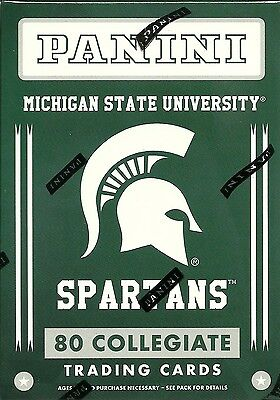 2016 Panini Michigan State Univ. Spartans Multi-Sport Blaster Box Trading Cards
