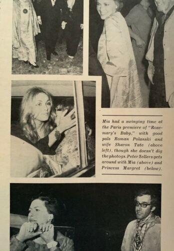 Sharon Tate - 1968 Photoplay Magazine