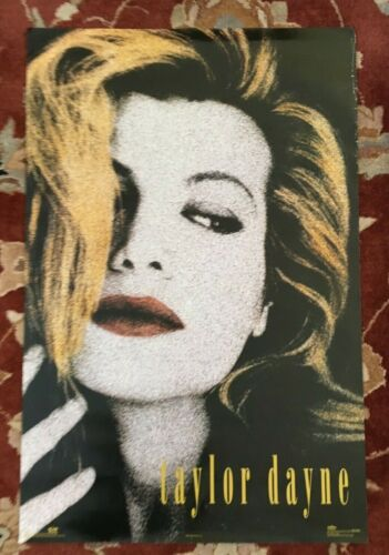 TAYLOR DAYNE  rare commercial poster
