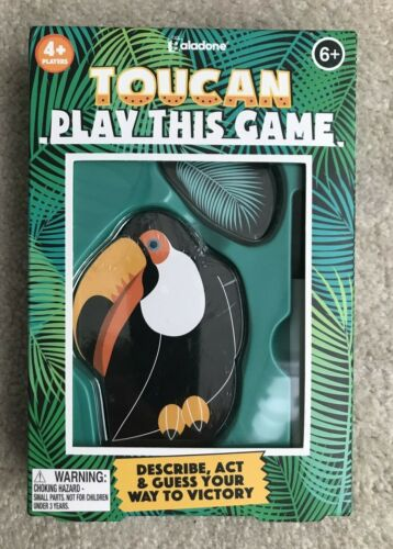 TOUCAN PLAY THIS GAME- Describe, Act & Guess Your Way to Victory  Ages 6+