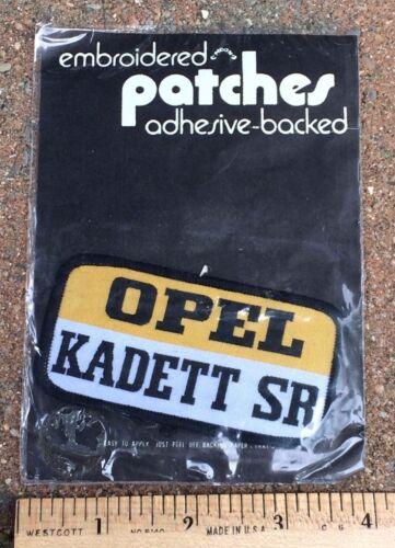 NIP Vintage Opel Kadett SR Euro Car Automobile Adhesive Patch
