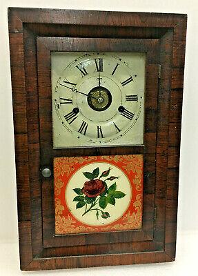 Small Antique Seth Thomas OG Mantel Clock With Alarm