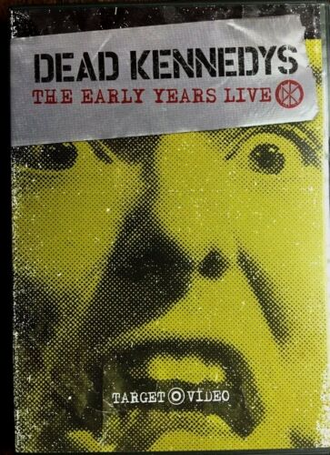 DEAD KENNEDYS * THE EARLY YEARS LIVE * STANDARD DVD RELEASE