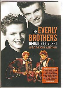 THE EVERLY BROTHERS REUNION CONCERT DVD LIVE AT THE ROYAL ALBERT HALL