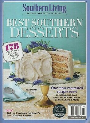Southern Living Special Collector's Edition Best Southern Desserts 2019 (Best Desserts Recipes 2019)