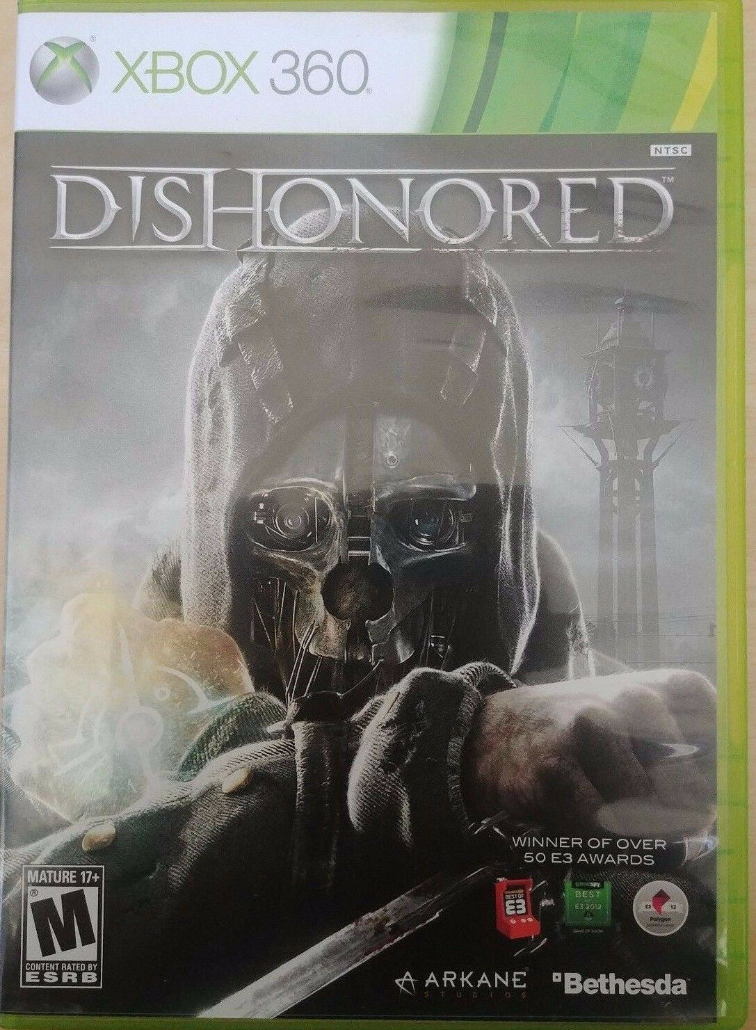 Xbox 360 Games - Dishonored (Microsoft Xbox 360, 2012) GAME COMPLETE