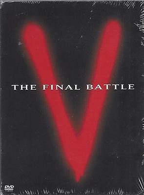 V: THE FINAL BATTLE Robert Englund Marc Singer NEW CUT-OUT 2-DVD SET