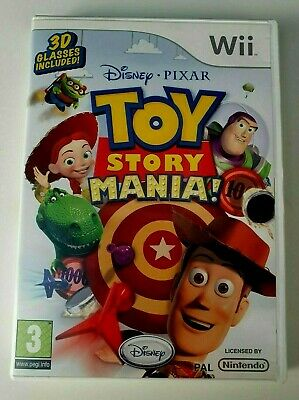 TOY STORY MANIA for NINTENDO WII RARE & HARD TO FIND