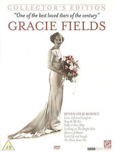 GRACIE FIELDS COLLECTOR'S EDITION - SEVEN FILM BOXSET- QUEEN OF HEARTS & MORE