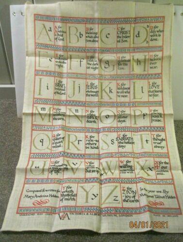 Victoria and Albert Museum London Irish Linen Dish towel