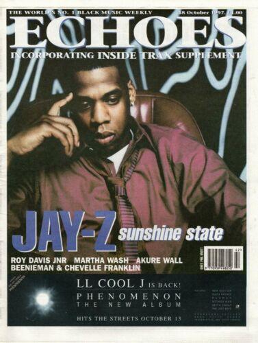 Echoes Newspaper 18 October 1997   Jay-Z  Ray Davis Jnr  Akure Wall  Martha Wash