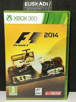 F1 (Formula 1) 2014 Xbox 360 - Full - Pal Spain Rare comprar usado  Enviando para Brazil