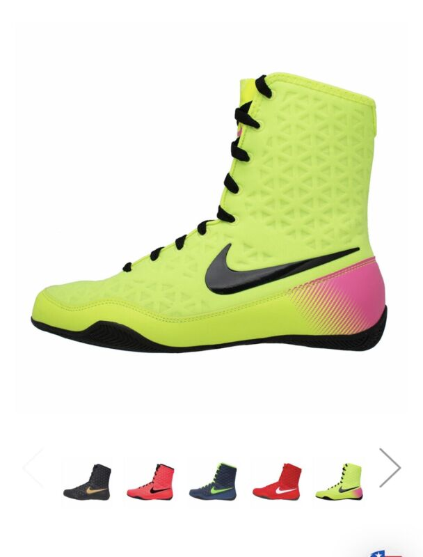 NIKE HYPERKO PINK/NEON BOXING SHOES (BRAND NEW IN BOX) - SIZE 13 FREE SHIPPING