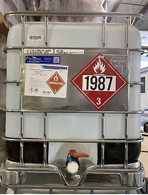 200 Proof Ethanol Alcohol 270 Gallons Denatured With N-heptane
